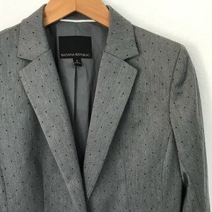 Banana Republic Polka Dot Blazer